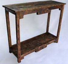 Vintage sofa table Living Room Sofa Table Handmade Reclaimed Pallet Wood Upcycled Vintage Rustic Look Ebay Handmade Rustic Sofas Tables Ebay