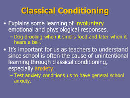 Classical Conditioning In The Classroom Behaviorism And The Teaching Of Mathematics Ppt Video