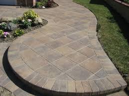 Patio Backyard Stone Patio Design Ideas Phenomenal Image Paver