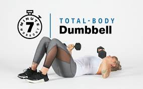 7 minute total body dumbbell workout
