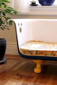 picture of diy clawfoot bathtub couch