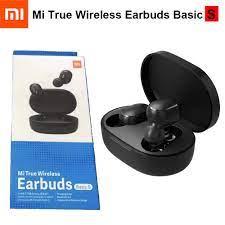 Original Xiaomi Mi True Wireless Earbuds Basic S Xiaomi Airdots Stereo Bass  with Mic Handsfree Bluetooth Earphone AI Control Bluetooth Earphones &  Headphones