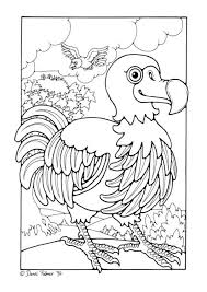 Coloring Page Dodo Coloring Picture Dodo Free Coloring Sheets To