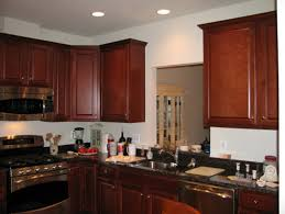 kitchen beige wall theme and wooden cabi connected pleasing paint colors with oak cabis showing dark