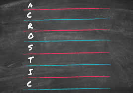 acrostic poems 8 of the best