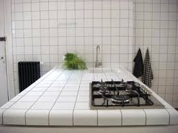 white tile kitchen countertops.  White White Ceramic Tile Kitchen Countertops To O