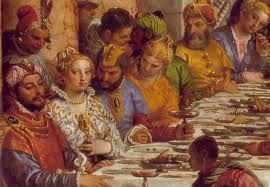 webmuseum veronese, paolo The Wedding At Cana Painting By Paolo Veronese the marriage at cana (detail of guests at table) Paolo Veronese Inquisition
