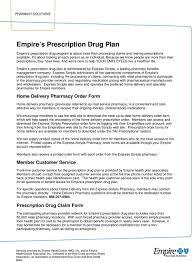 Express Scripts Customer Service Empire S Prescription Drug Plan Pdf