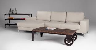 ... Dark Brown Rectangle Wood Industrial Style Coffee Table On Wheels  Designs To Decorate Small ...