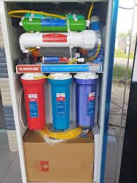 Máy lọc nước RO nóng lạnh 2 vòi SUNHOUSE SHR76210CK 10 cấp lọc