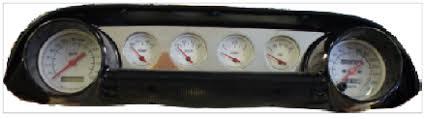 63 64 ford galaxie billet dash panel egaugesplus 1964 ford galaxie billet gauge panel