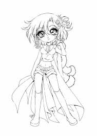 Anime Goth Girl Coloring Pages