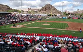 Tempe Diablo Stadium Seating Chart Tempe Diablo Stadium Angels Spring Training