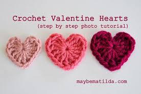 Heart Crochet Pattern Best Maybe Matilda Crochet Valentine Hearts Photo Tutorial