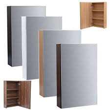 enki mirror cabinet bathroom cloakroom wall hung unit horizon cabinets bora wall mounted