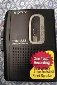 Kartal içinde, ikinci el satılık Sony TCM-333 Cassette Corde