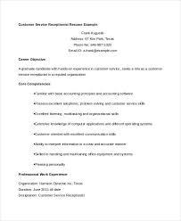 Example Resume For Customer Service 11 Customer Service Resume Templates Pdf Doc Free
