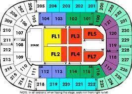 Bi Lo Center Seating Chart Greenville Sc Kid Rock Concert 2 16 Bi Lo Center Greenville Sc 4 Tickets