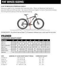 bike sizing charts and guide the