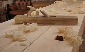 home made wooden jointer plane
