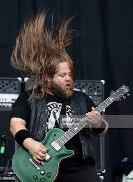 Guitarist Scott Middleton of Cancer Bats performs live on the Main... News  Photo - Getty Images