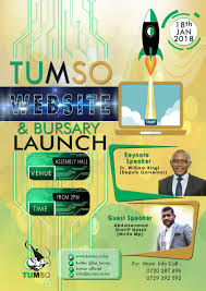 Graphic Design Bursaries Tumso Launches Unions Website And E Bursary System