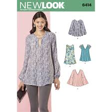 Tunic Sewing Pattern Extraordinary New Look Women's Tops And Tunics Sewing Pattern 48 Hobbycraft