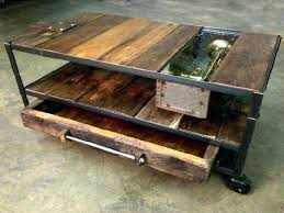 industrial coffee table with wheels coffee table rustic rustic coffee table construction rustic coffee table wheels