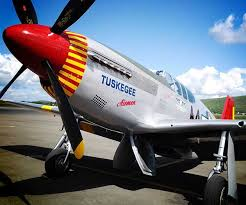 photos from the return of the red tails event original a p 51 mustang restored to look like one the tuskegee airmen would have flown including the red tail did a fly over during the event