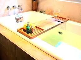 tub tray bathtub large size of wooden bath homemade shelf image caddy clawfoot 0 blissful teak bathtub wood