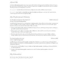 Sample Photographer Resume Template Best Freelance Photography Resume Best Resume Template Whizzme