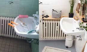 Wenn die fliesen in bad, küche oder auf dem fußboden einfach nicht mehr frisch aussehen, ist es an der zeit für einen neuen anstrich. Badezimmer Vorher Nachher Renovieren Mit Fliesenlack