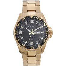 results for mens sports watches accurist men s gold plated sports watch