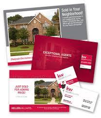 keller williams door hangers. keller williams business cards for real estate door hangers