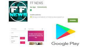 Aplicativo FF NEWS - Sorteios e Notícias! - FREEFIRENEWS