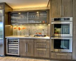 grey stained kitchen cabinets kitchen by lam interiors grey stained maple kitchen cabinets