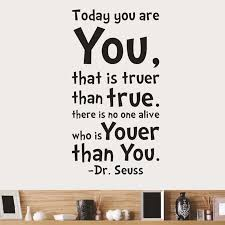 details about today you are art words mural removable wall sticker decals dr seuss afflatus