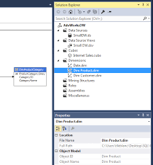 Msas Cubes Analysis Services Ssas Cubes Dimension Attributes And Hierarchies