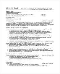 Sample Resume For School Counselor School Counselor Resume Objective Rome Fontanacountryinn Com