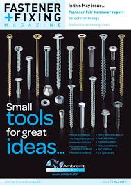 fastener fair hannover report structural fixings application technology news
