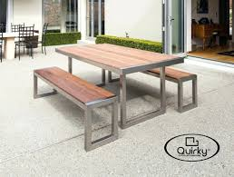 metal furniture plans. Lovely Stainless Steel Outdoor Furniture Sydney View New In Fireplace Plans Free Metal Brisbane Classic 2200x990mm Mitre Polished Frame Table Top With Kwila I