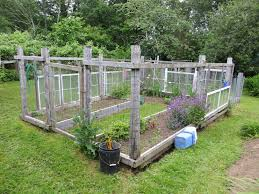 raised garden with fence plans and patio diy enclosedackyard vegetable using recycled wood wire plus 4x8