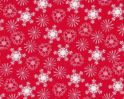Patchworkstoff Nordic Holiday Mit Weihnachtssternen Rot Weiß