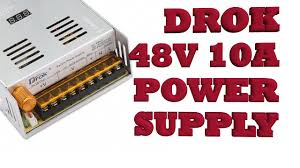 DROK <b>48Vdc</b> 10A adjustable <b>Power</b> Supply: <b>Power</b> Feed  CNC Pt.4 ...