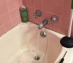 bathtub keeps clogging ideas
