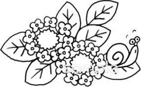 カタツムリ 額紫陽花イラストなら小学校中学校幼稚園向け保育園