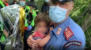 Ritrovato vivo in un burrone il bambino di due anni scomparso a Palazzuolo  sul Senio - Gazzetta del Sud
