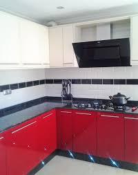 Red And Black Kitchen German Kuchen Studio
