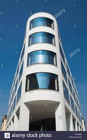 Curved Architecture Modern Architecture And Facade With Curved Glass Windows In A