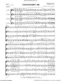 Lombardo - Londonderry Air sheet music ...